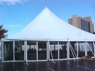 40x100 Century Top Tent with Clear Sides