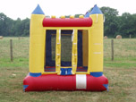 Castle Themed Moon Bounce